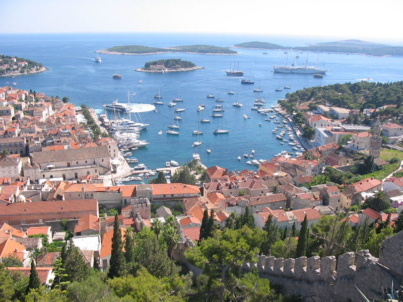 Island Hvar -  Town Hvar, Croatia