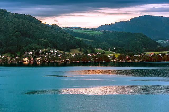 Beautiful Lake Attersee, Austria
