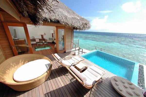 Huvafen Fushi Resort - $600 / Day  - $5000 / Day