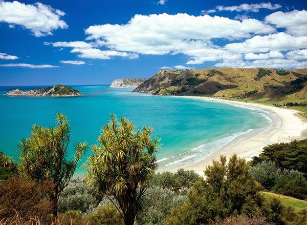 Anaura Bay, Gisborne, New Zealand