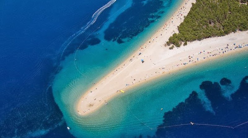 Beautiful Coasts From Around the World - Zlatni rat, Bol, Croatia